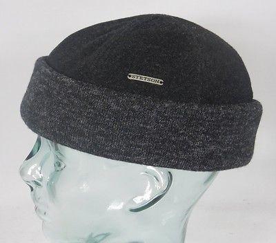 STETSON SPARR Docker Mütze Beanie Cap Wintermütze Rollrand Skullcap 8810101 Neu