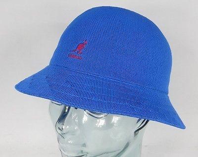 KANGOL TROPIC CASUAL Hut Bucket Hat Bobby blau Mütze Sommerhut NEU