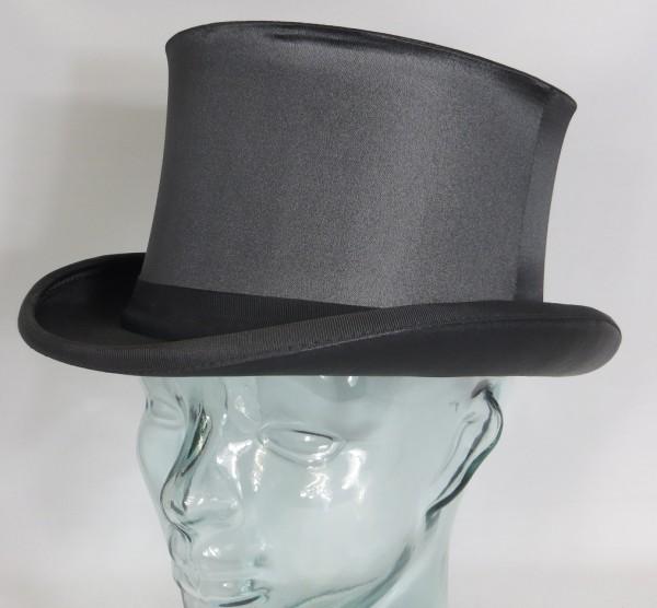 Chapeau Claque Zylinder Hut Klapphut schwarz Top Hat Neu