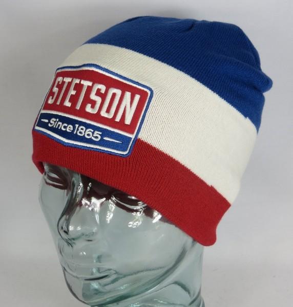 STETSON Beanie Gasoline Strickmütze Pudel Winter Mütze Wollmütze Cap 8699102 Neu