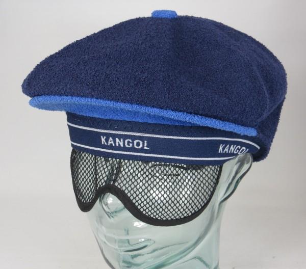 KANGOL 2-tone Bermuda Galaxy Flatcap Ivy Cap Golfcap Schieber Mütze blau NEU