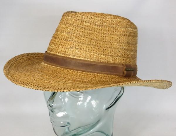 STETSON Raffia Western Strohhut Cowboyhut Embossed Sonnen Sommer Hut  2718501 NEU 3e1700e724d