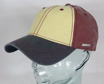 STETSON Cap Basecap Käppi Kappe Baseball Mütze Baumwolle Sun Guard 7711118 NEU