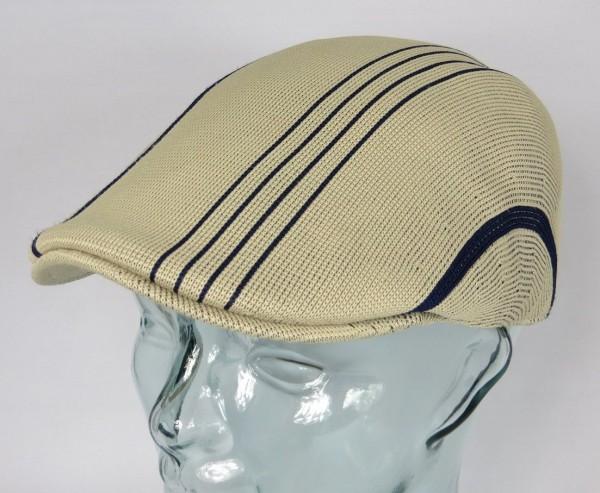 KANGOL MULTI STRIPE 507 Flatcap Mütze Ivy Cap Gatsby Sommermütze Golfcap NEU