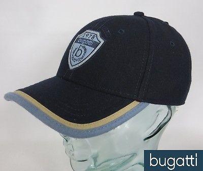 BUGATTI BASECAP Wintermütze Schirmmütze Mütze Cap Kappe Baseballmütze Blau Neu
