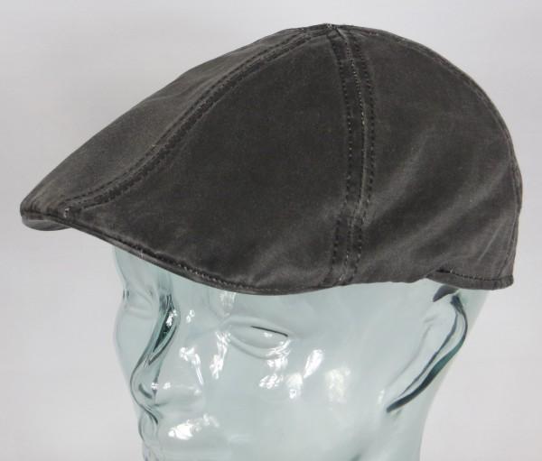 STETSON Level Flatcap Ivy Cap Mütze Schiebermütze anthrazit Texas 6691101 NEU